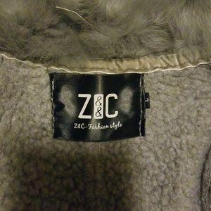 Jackets & Blazers - Neck fur women coat